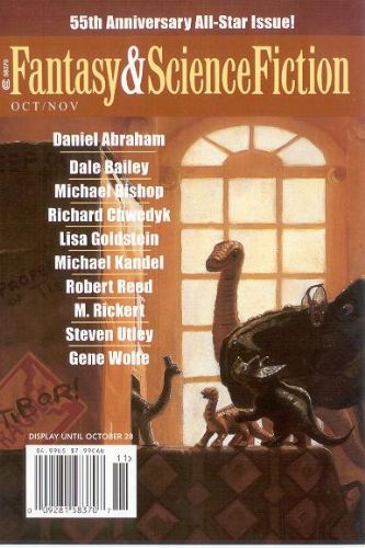 Fantasy & Science Fiction, Oct. 2004, cover by Bryn Barnard